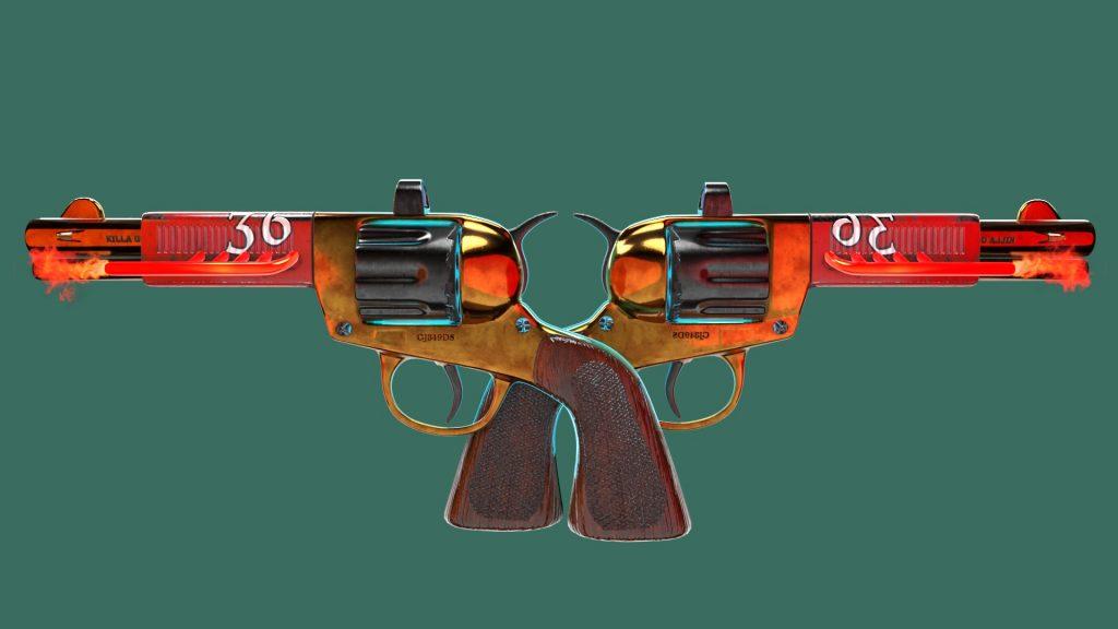 Revolverstein Double 1