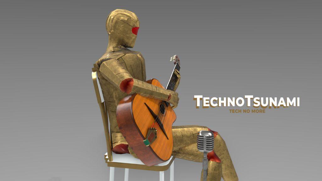 Robot Django Techno Tsunami 2