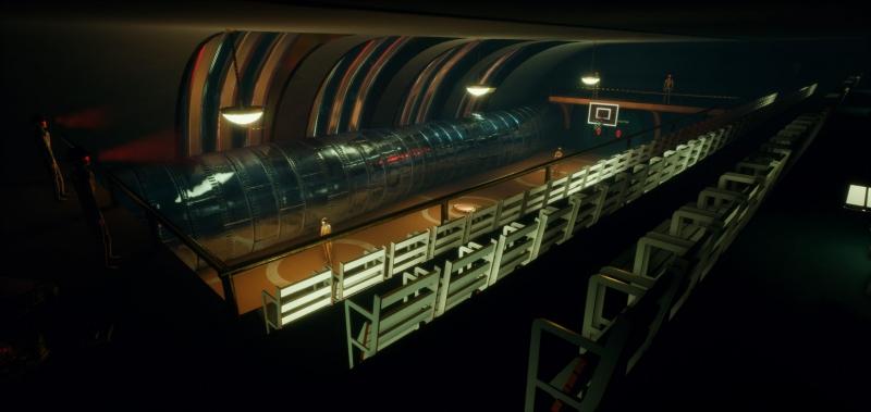 TechnoTsunami Olympia Basketball Hall